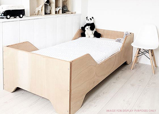 children's bedroom furniture - range of pine and birch plywood beds
