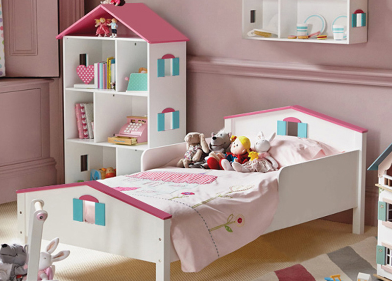 Elegant Dollhouse Bed